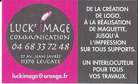 carte de visite luckimage